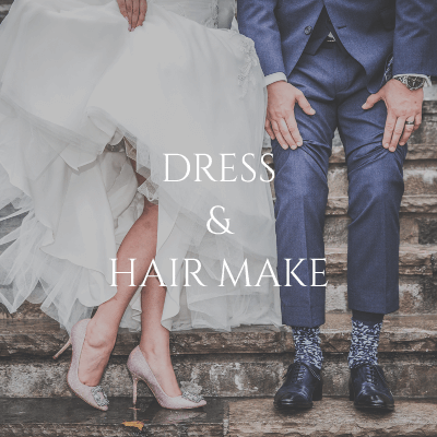 DRESS & HAIR MAKE