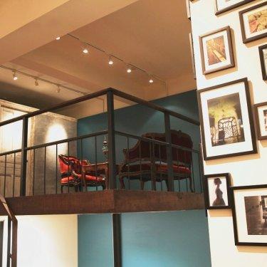 アトリエスタジオの中2階