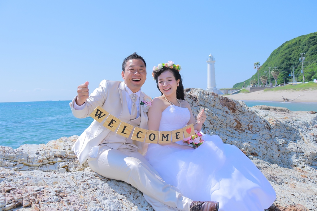 快晴の中で海ロケ!!!