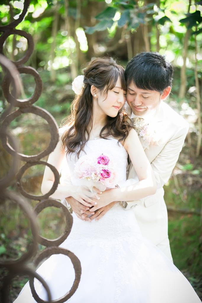 幻想的な結婚写真