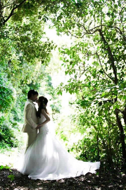 オシャレでナチュラルな結婚写真