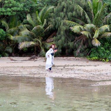 グアムで撮影したオシャレなビーチフォト