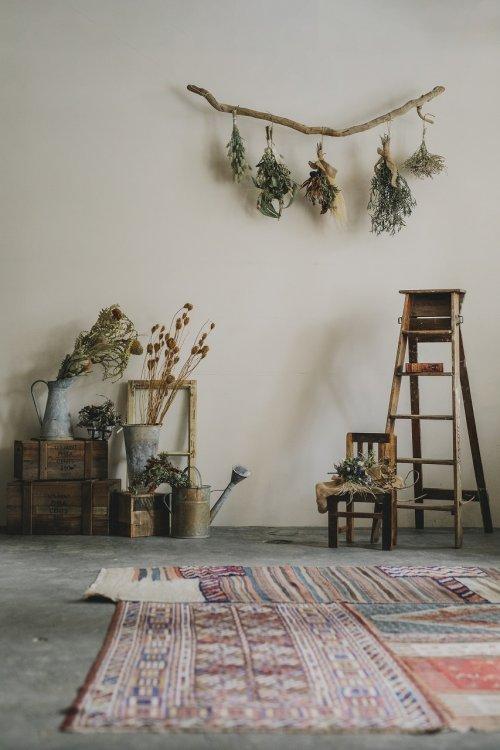 ペルシャ絨毯がオシャレ