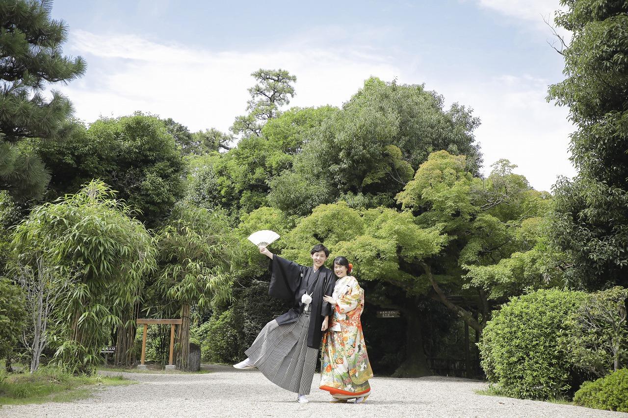 【東山荘】で笑顔いっぱいのウェディングフォト