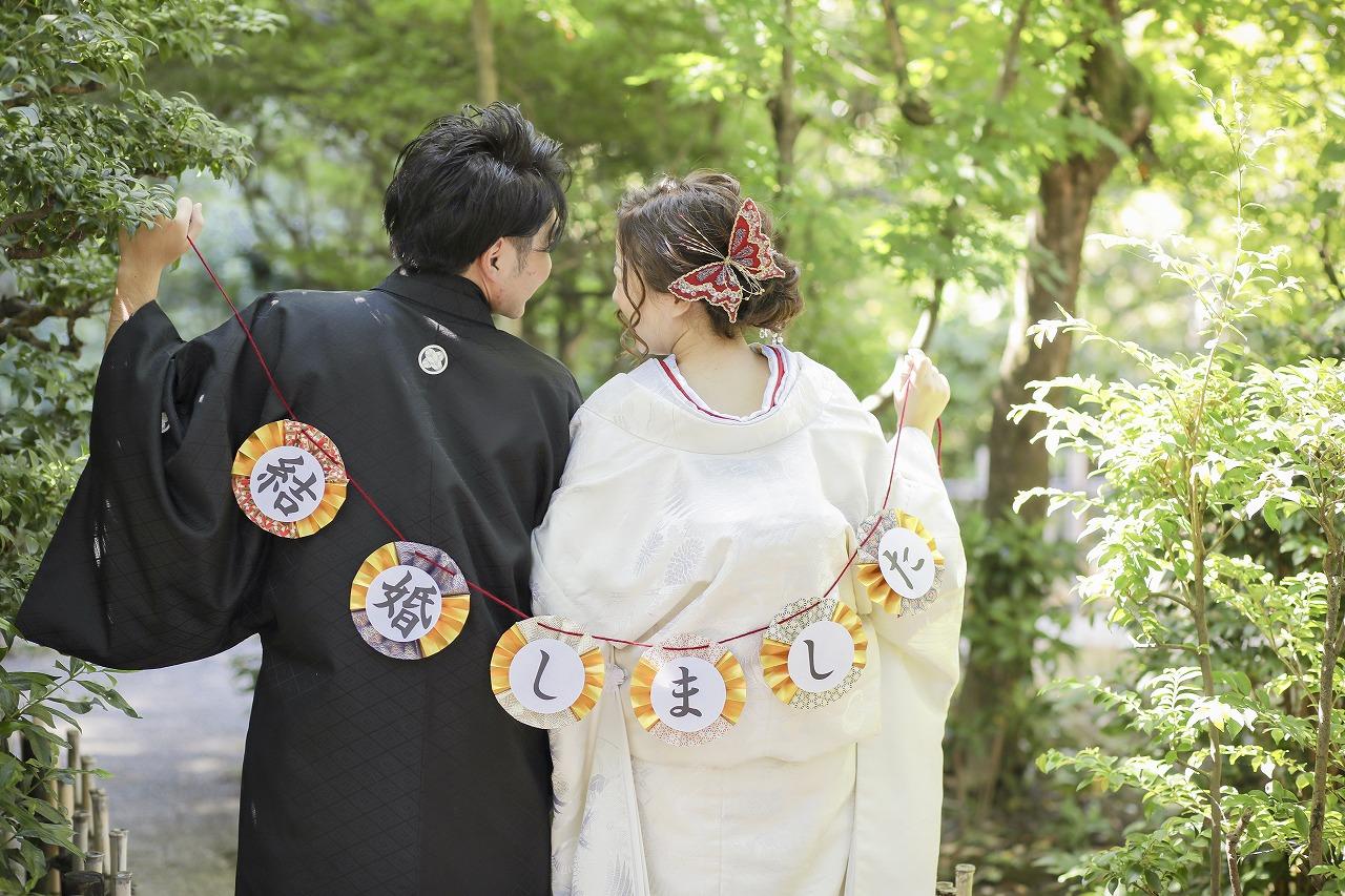 私たち結婚しました!アンティークスタジオ&東山荘で前撮り撮影!