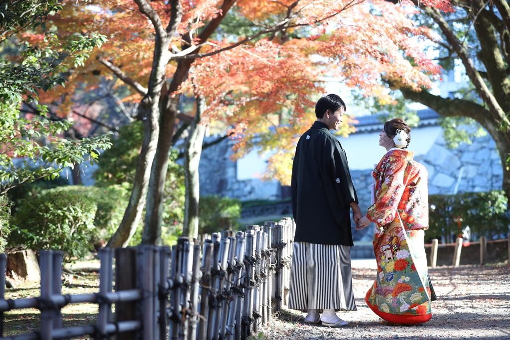 名古屋城で幸せいっぱいの1日を♡